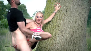 Public park sex with Kacy Kisha
