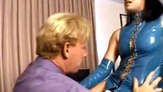 Belladonna fucks guy in the ass with a strapon femdom pegging