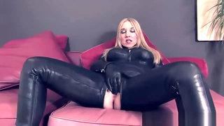 TheEnglishMansion - Leather Catsuit Worship