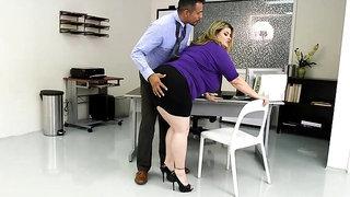 Bbw Sex Porn Kimmie Kaboom - Desk Works, Cougar