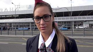 Stewardess Andrea