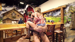 Country chick Alexis Fawx lures a stranger into sex
