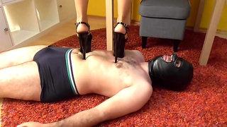 Trampling Slaves - Femdom Porn Video