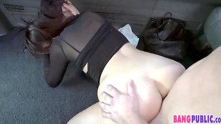 Sexy Pawg Fucking In Bangbus Van