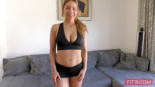 Skinny Dutch Girl Can Bellydance And Fuck