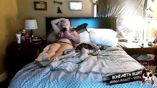 Cute Innocent Blonde Homealone - Real Hidden Cam