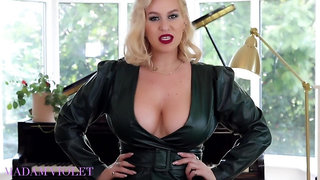 Madam Violet Get Your Erectile Dysfunction - Big tits JOI