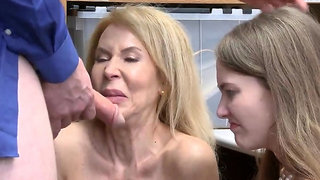 Office flash and hardcore dick riding Both grandmother