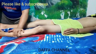 Indonesian massage with nice boner