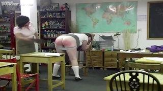 spanking bbw girl