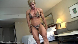 Beautiful female bodybuilder 1
