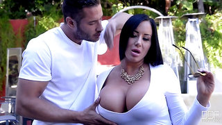 Nasty and Rich Sybil Stallone wants handsome guy