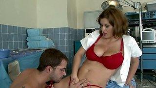 Hot Sexy Mom Sara Stone - Big Breast Nurses #02, Scene #05