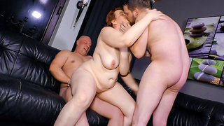 AmateurEuro - Mature Couple Invites Young Neighbor For 3way