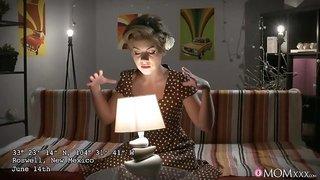 Hot Ukranian MILF Sasha Zima gets probed on Halloween