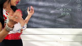Big Titties Porn Claudia KeAloha - Teach Is Stacked, Huge Asses