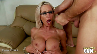 Emma Starr Facial With Glasses