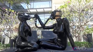 Japanese Spandex Catsuit Chick Vacbed Cube Breathplay