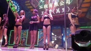 Taiwanese outdoor bikini singing show