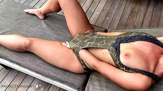 poolboy fucks his mistress in the garden - projectsexdiary