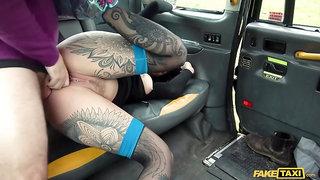 Sex addicted old geezer fucks tattooed punk girl Karma Synn
