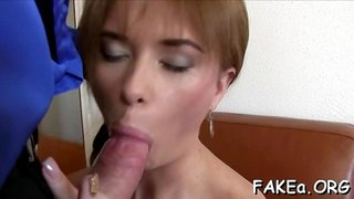 Meaty cock bangs hot fake agent