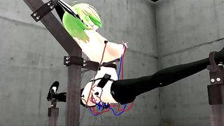 ?MMD R-18? Electric Gumi (No Sound) by YunaTBM