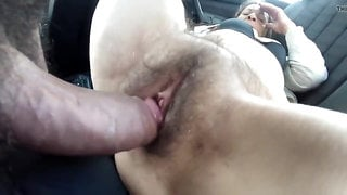 Hairy Granny gets Close Up Pussy Fucking