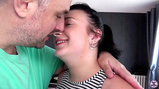 French chubby MILF nicely fuck