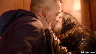 Tainster - Fully clothed elevator sex