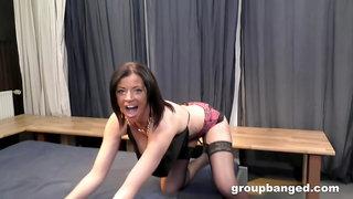 GroupBanged - Da Cada The Perverted Gangbang Slut