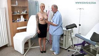 Mila Milan - 28 Years Girl Gyno Exam
