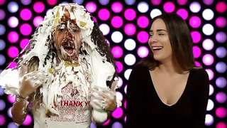 2 women get messy with pies and slime (Trailer)