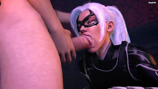 Marvel Comics - Hot Black Cat - Part 4