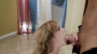 Bitchy dancer Cherie DeVille acts like a dirty slut during sex