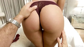 Eye catching babe with nice bubble ass Gia Derza just loves kinky doggy fuck