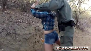 Keri sable blowjob Kayla West was caught lusty patrool during border