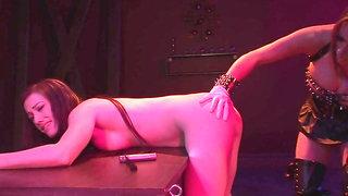 BDSM Pleasure crazy threesome sex