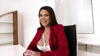 Double D Business Woman Gabbie Carter Means Business