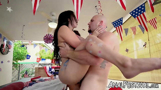 Fat booty Valerie Kay and Valentina Jewels fuck roughly