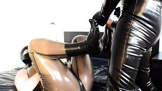 Latex Strapon 3 bdsm bondage slave femdom domination