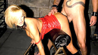 XDOMINANT 035 - BLONDE MISTRESS IS FUCKING HER SLAVE