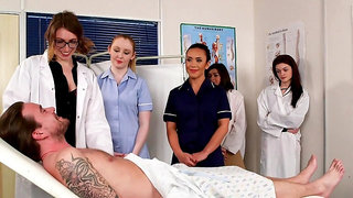 First time these nurses share dick in the Hospital