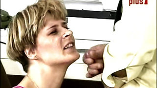 Dutch milf Shannon plays a street whore
