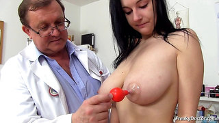 Different Things In Her Cunt - Medical Fetish