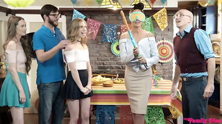 Anya Olsen crazy group sex video
