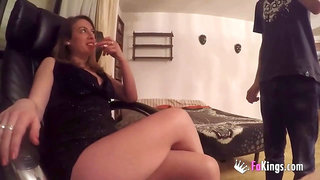 Jordi is back! He's going to settle scores and fuck hot MILFs Siona Gold and Lucia Hormigos