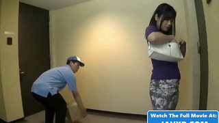 Hot Japanese Babe Fucked By The Postman