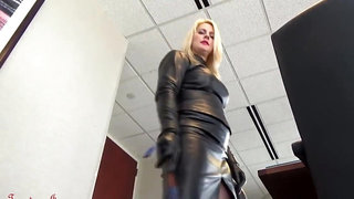 leather dominatrix