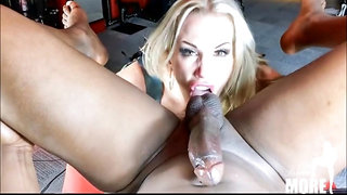 Domina Rebecca More BDSM - fetish hardcore with ass licking
